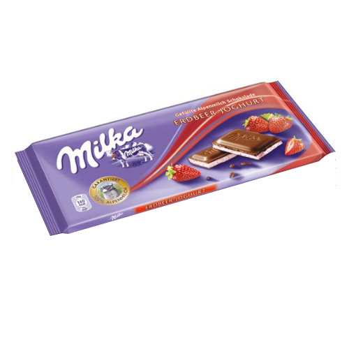 밀카 딸기요거트 초콜릿 100g (EXP 3개월전후)