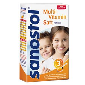 사노스톨 멀티비타민 무설탕주스 460ml