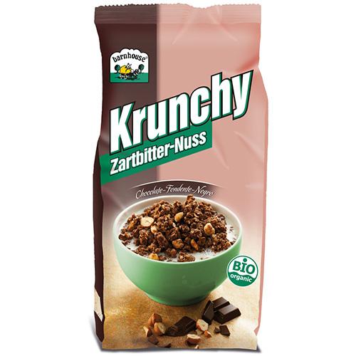 반하우스 크런치 다크초콜릿 너트시리얼 375g