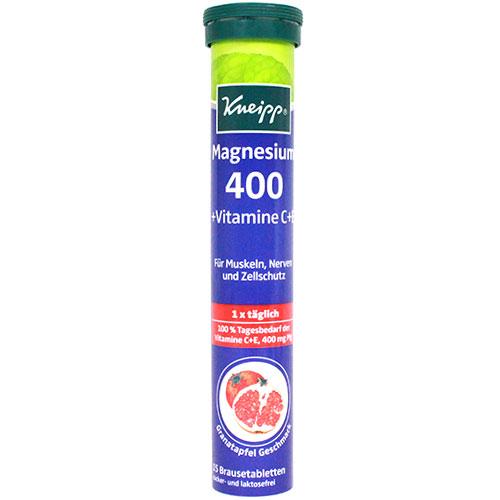 크나이프 마그네슘400 발포비타민 15정