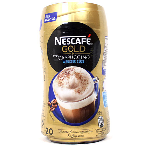 네스카페 골드 카푸치노 커피 250g (저당)
