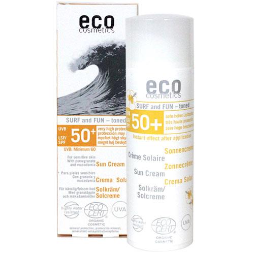 에코코스메틱 서프&펀 틴티드 LSF30+ 썬크림 50ml