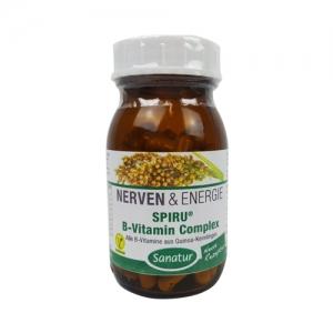 사나투르 스피루리나 비타민B 콤플렉스 90캡슐