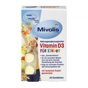 미볼리스(다스게준트플러스) 키즈 D3비타민 60정