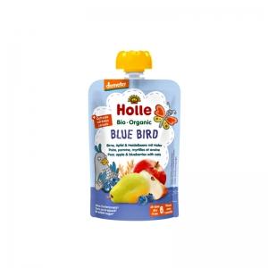 홀레 퓨레파우치 파랑새. 사과&배&블루베리 100g