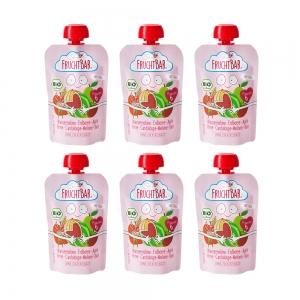 푸르트바 퓨레파우치 수박&딸기&사과&배&쌀 100gX6개묶음