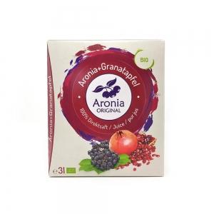 아로니아 오리지널 석류혼합 과즙팩 3L