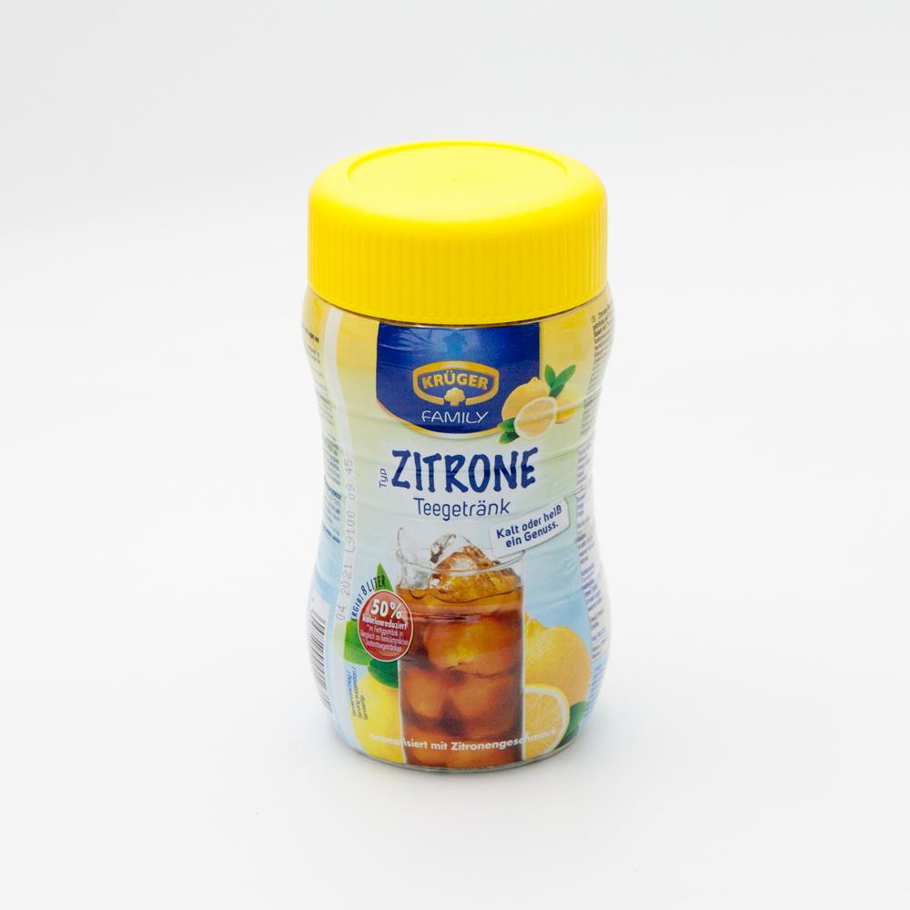 크뤼거 50% 저칼로리 레몬 아이스티 400g