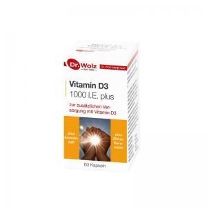 닥터볼츠 비타민D3+IE1000 플러스 60캡슐
