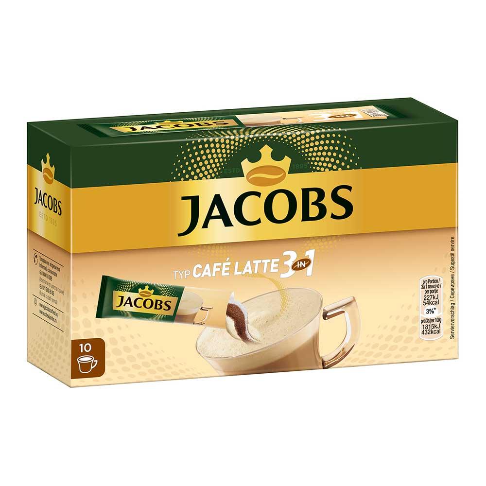 야콥스 커피 3in1 카페라떼 12.5gX10개입