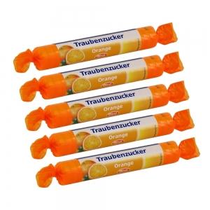 독일 인텍 포도당사탕 오렌지맛 1롤X5개묶음