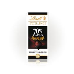 린트 Tafel 엑설런스 다크씬 70% 초콜릿 100g